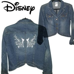 DISNEY DIVINE TINKERBELL Denim Jacket Medium